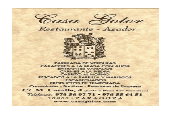 Restaurante Casa Gotor