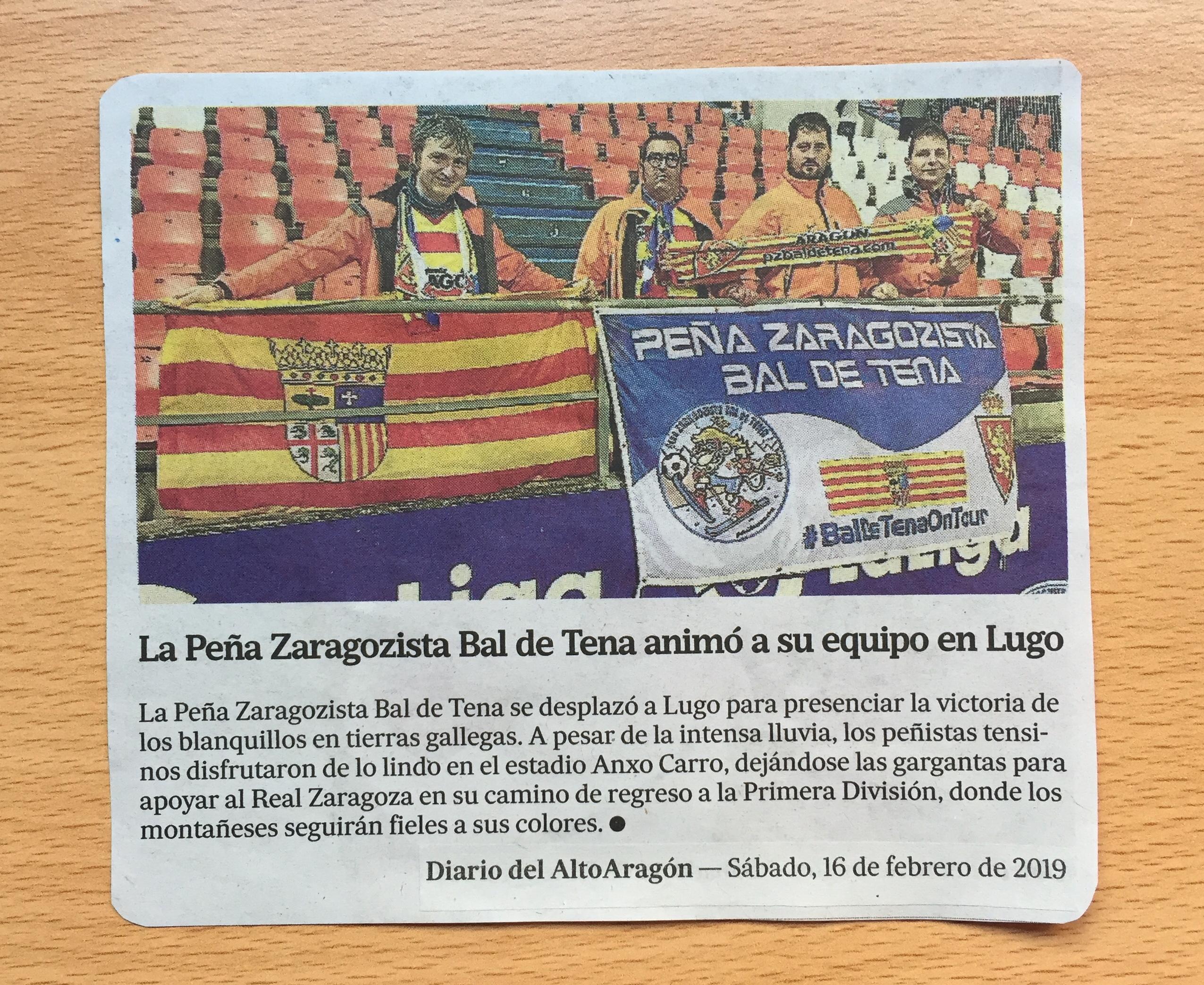 recorte prensa DA viaje lugo 09-02-19 - pzbaldetena.com