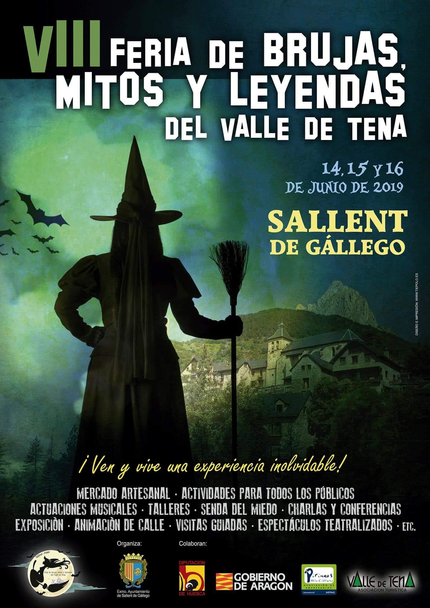 cartel VIII Feria brujas 2019 - pzbaldetena