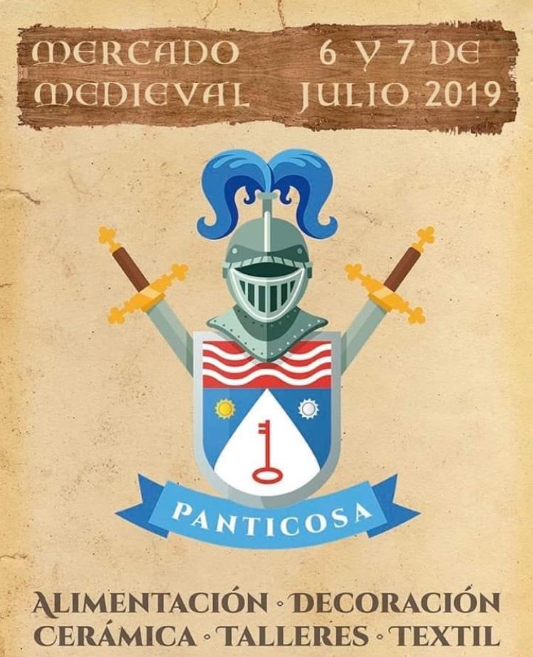 cartel mercado medieval panticosa 2019 - pzbaldetena