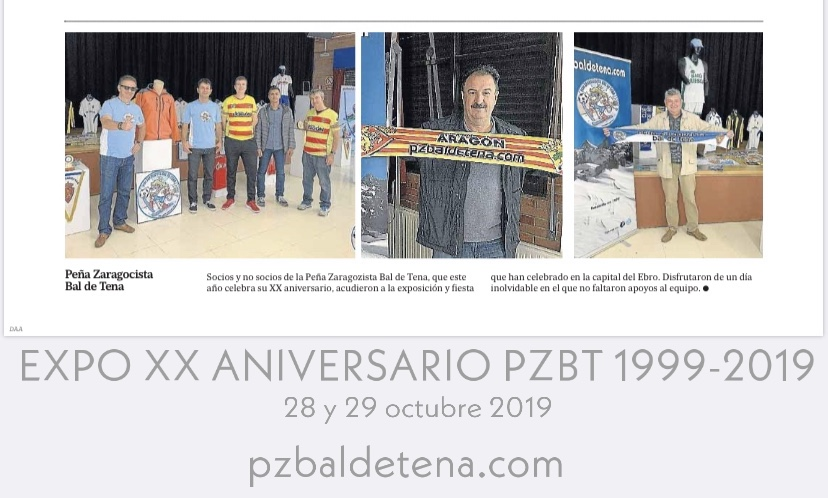 recorte prensa Diaro Altoaragón 09-11-2019 - pzbaldetena